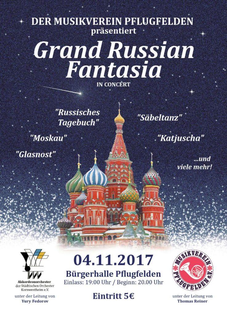 Einladung Jahreskonzert 4.11.17