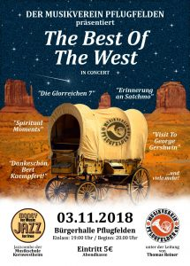 Werbeflyer The Best Of The West